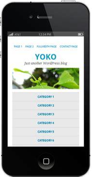 zweispaltiges layout wordpress yoko wordpress free theme mit responsive layout und post