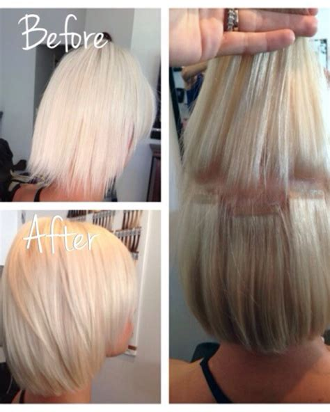 hairpieces to thicken short hairstyles thickening hair extensions om hair