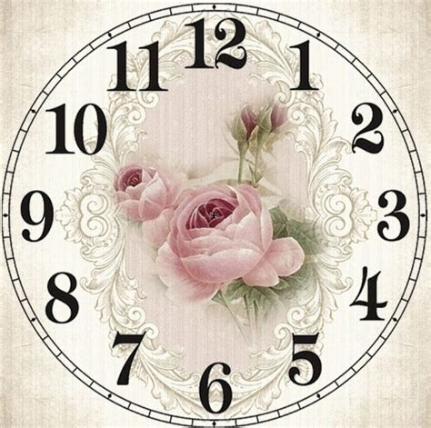 printable vintage clock faces clock face free vintage printables and some almost free