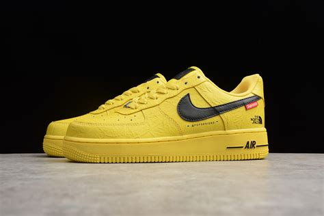 Supreme Nike Air 1 by Supreme X The X Nike Air 1 07 Yellow