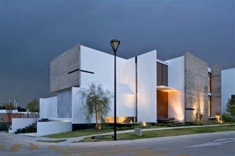 home architecture design interesting house facade for modern mexico design