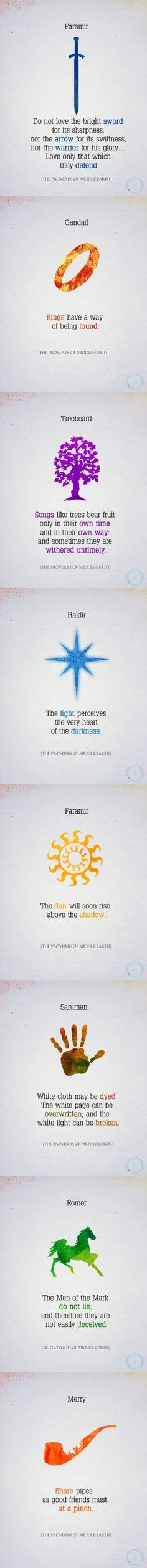 The Proverbs Of Middle Earth 1000 images about book on ready player