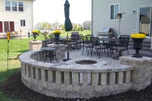 block patio designs landscapes complete inc pictures amp ideas