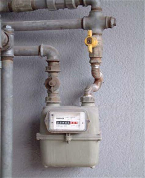 contatore gas in casa ambiente sicuro