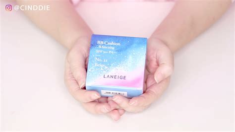 Laneige Bb Cushion Review laneige bb cushion whitening review reviews more cinddie