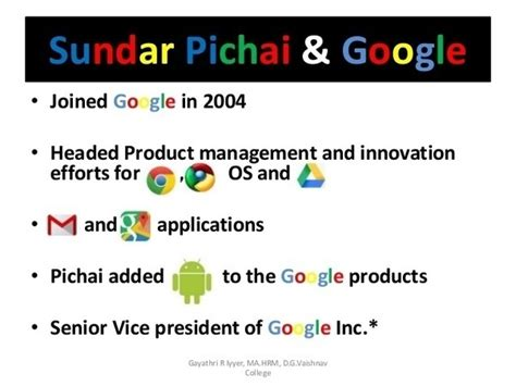 Iit Kharagpur Mba Quora by If Sundar Pichai Studied Metallurgy At Iit Kgp And A