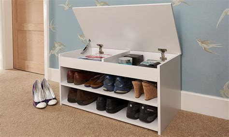 shoe storage bench uk hallway shoe cabinets the furniture co