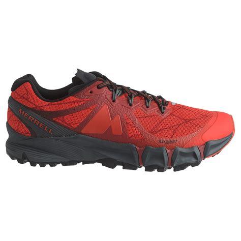 merrell running shoes for merrell agility peak flex trail running shoes for