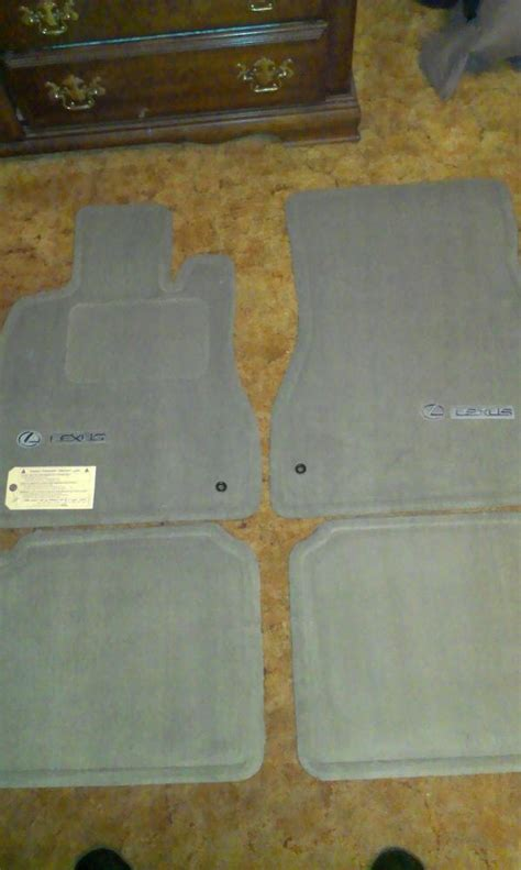ls 430 floor mat set deal club lexus forums