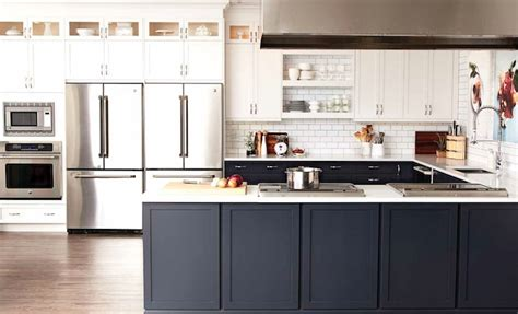 Convection Cooktops Two Tone Kitchen Cabinets Contemporary Kitchen