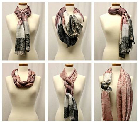 shop many different ways to wear a scarf my style
