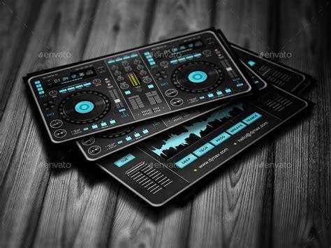 digital card digital dj business card by vinyljunkie graphicriver