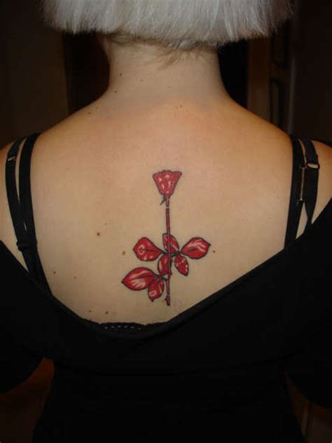 violator rose tattoo depeche mode violator