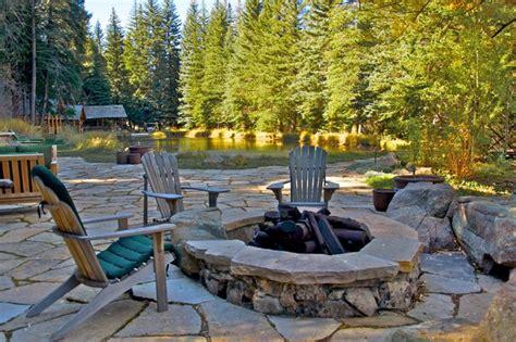 Landscape Architect Evergreen Co Evergreen Mountain Retreat Traditional Patio Denver