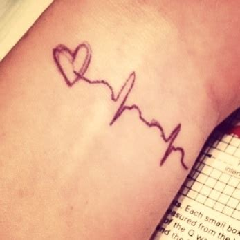 ekg tattoo designs 25 best ideas about ekg on heartbeat