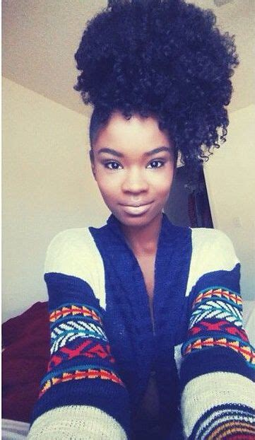 pintrest pics of african americans with natural puff hairstyles a well my hair and african american hair on pinterest