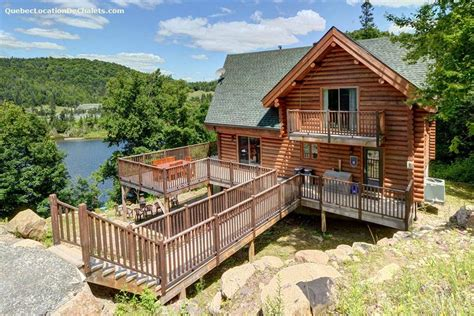 Waterfront Cottage Rental by Waterfront Cottage Rentals Lac Rougeaud Vacation Rentals