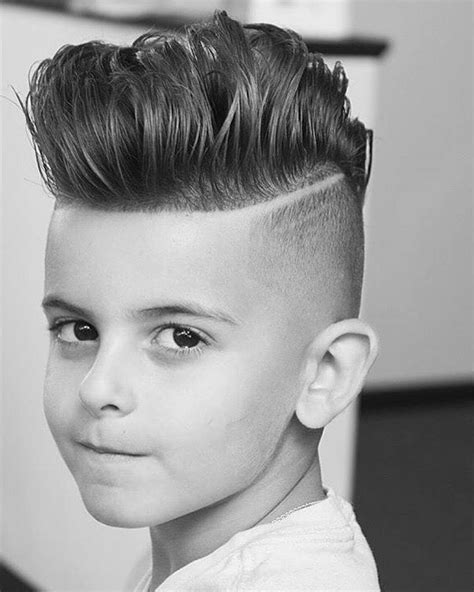 Hairstyles For Boys by 50 Best Boys Hairstyles For Your Kid 2018
