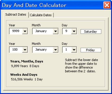 Calculate Calendar Days Calendar Countdown Between Two Dates Calendar Template 2016