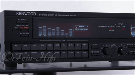 format video kenwood kenwood ge 810 7 band graphic equalizer midi format