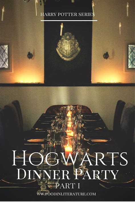 harry potter themed decorations a harry potter hogwarts dinner part i in literature