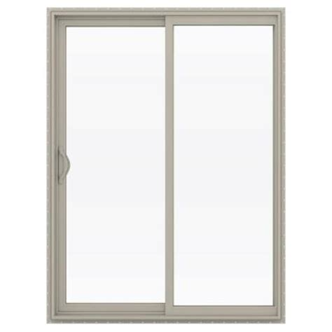 60 sliding glass patio door jeld wen 60 in x 80 in v 2500 series vinyl sliding low e