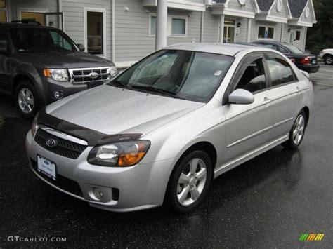 2008 kia spectra sx silver 2008 kia spectra sx sedan exterior photo 55622921