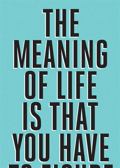 the meaning of life the curious brain