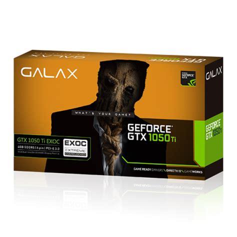 Galax Geforce Gtx 1050 Ti Exoc 4gb galax geforce 174 gtx 1050 ti exoc グラフィックスカード