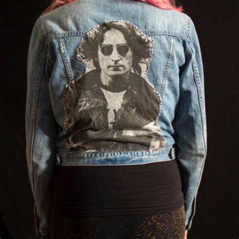 Jaket Lukis Levis best painted denim jacket products on wanelo