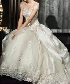 vintage victorian ball gown wedding dress by