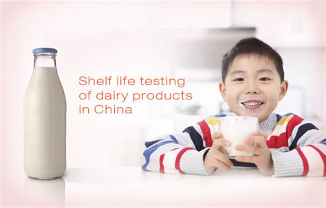 Shelf Testing by Shelf Testing Of Dairy Products In China