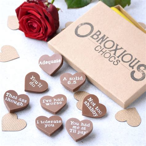 Handmade Belgian Chocolates - a box of handmade belgian chocolate obnoxious chocs by