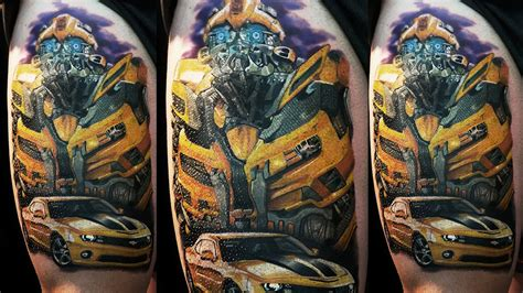 transformer tattoos transformers time lapse