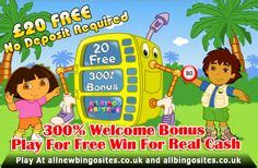 Bingo No Deposit Bonus Win Real Money - all bingo sites on pinterest bingo cash money and gaming