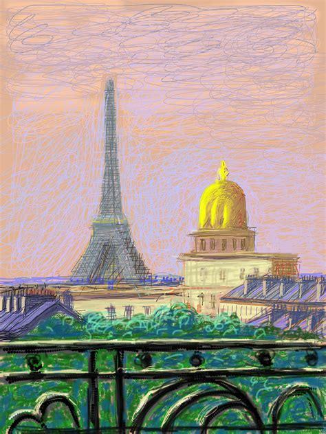 David Hockney by David Hockney Fleurs Fra 238 Ches Dessins Sur Iphone Et