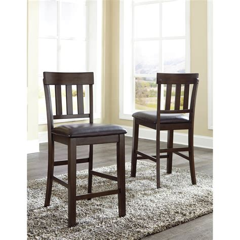 furniture 7 extension pub dining room set in benchcraft haddigan 5 dining room counter extension table set virginia furniture market