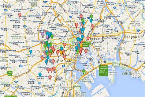 maps tokyo food lover s guide to tokyo snixy kitchen snixy kitchen