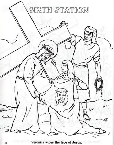 coloring book pages stations of the cross stations of the cross printable coloring pages coloring home