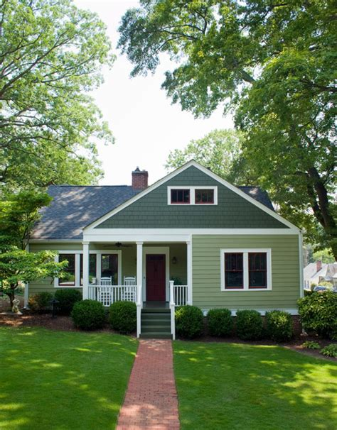 American Small House | american small house renovation front elevation after