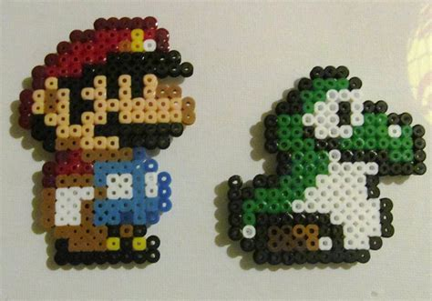 perler bead mario mario perler www imgkid the image kid has it