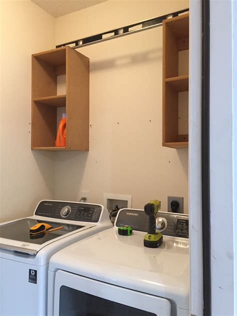 how to build laundry room cabinets how to build cabinets laundry room makeover