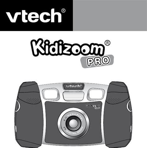 Bedienungsanleitung Vtech Kidizoom Pro Seite 1 Von 89