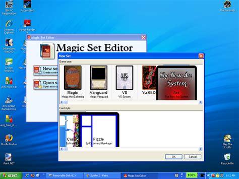 magic set editor templates arc system templates magic set arc system templates