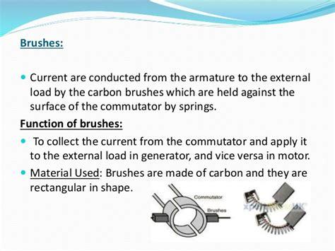 function of brushes in dc motor dc motor