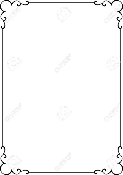 cornici per word 4960557 vector decorative frame stock vector border simple