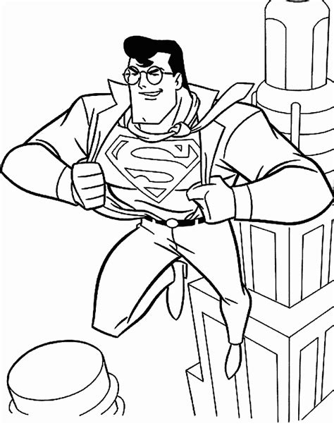 superman coloring pages online superman games for kids