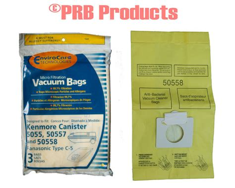 Kenmore Vaccum Bags by Kenmore 50558 50557 5055 Type C Sears Vacuum Cleaner Bag