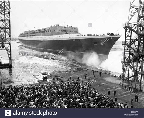 elizabeth ii ship the elizabeth ii qe2 ship the launching ceremony at