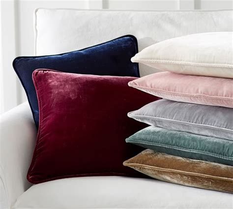 Cushion Covers For Dining Room Chairs by Nia Velvet Pillow Cover Pottery Barn